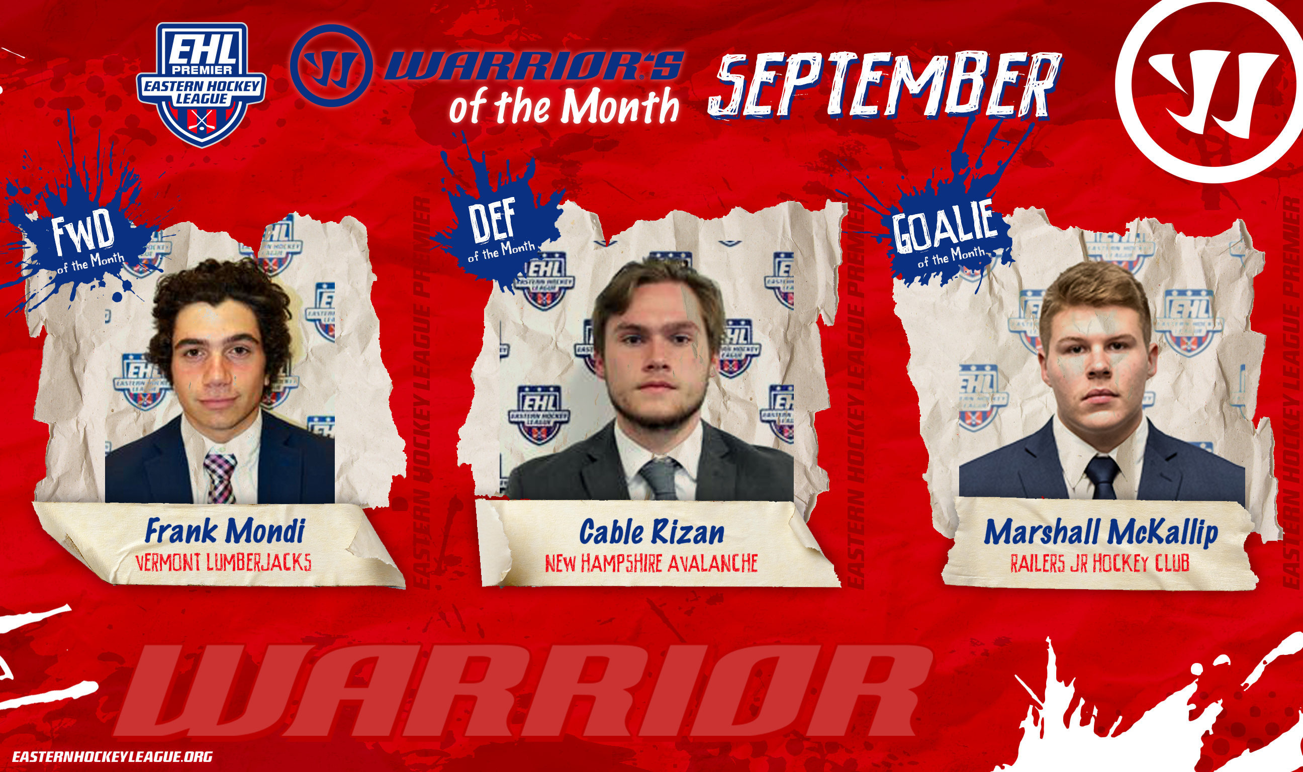 EHLP Stars of the Month