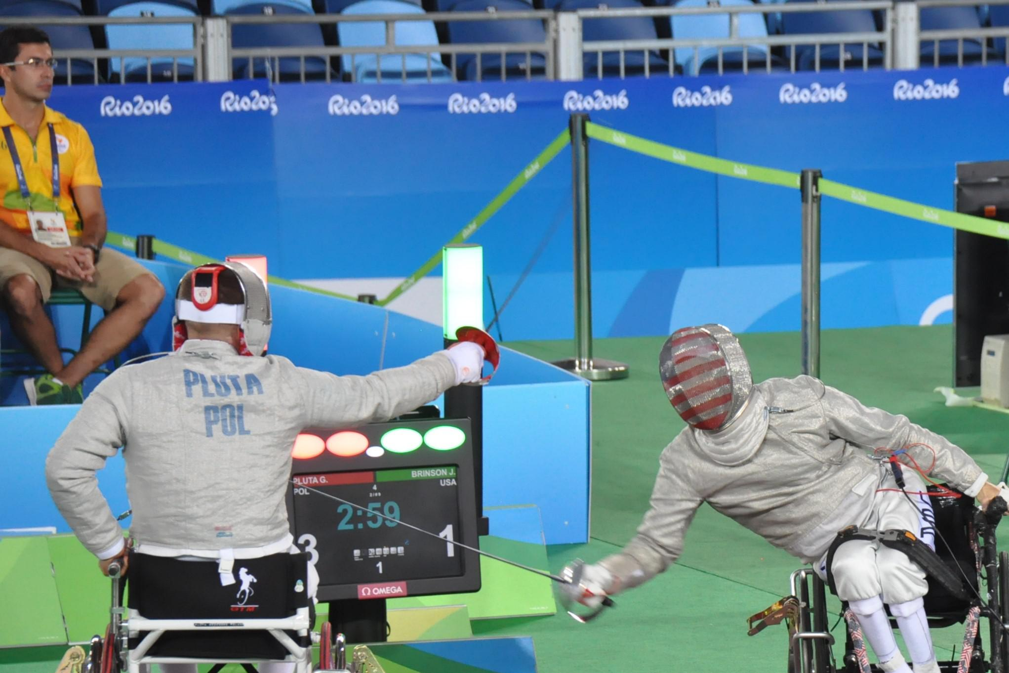 U S  Wheelchair Fencing Team to Compete at Americas Championships