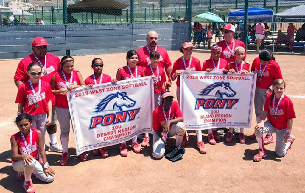 Redlands 10U Softball Red All-Stars in Fontana