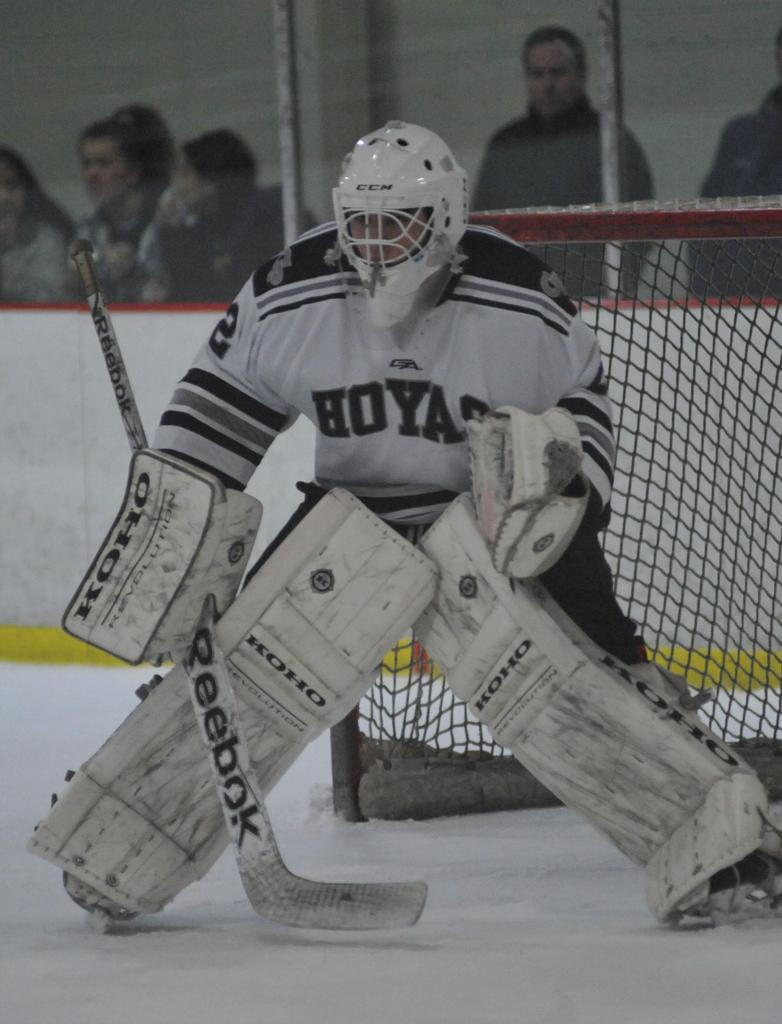 Georgetown Prep's Elon made 20 saves in the Little Hoyas' 0-0 tie with Bishop O'Connell.