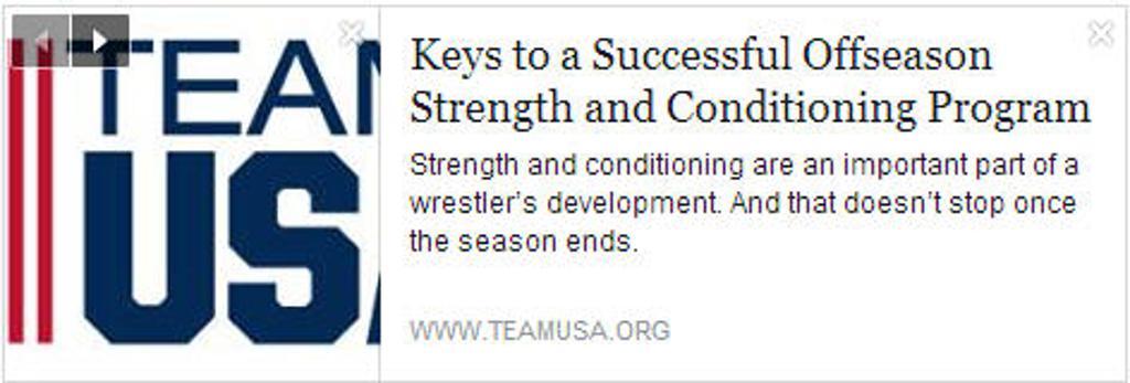 Eden Prairie Wrestling Coach Jeff Wichern Keys to a Successful Offseason Strength and Conditioning Program