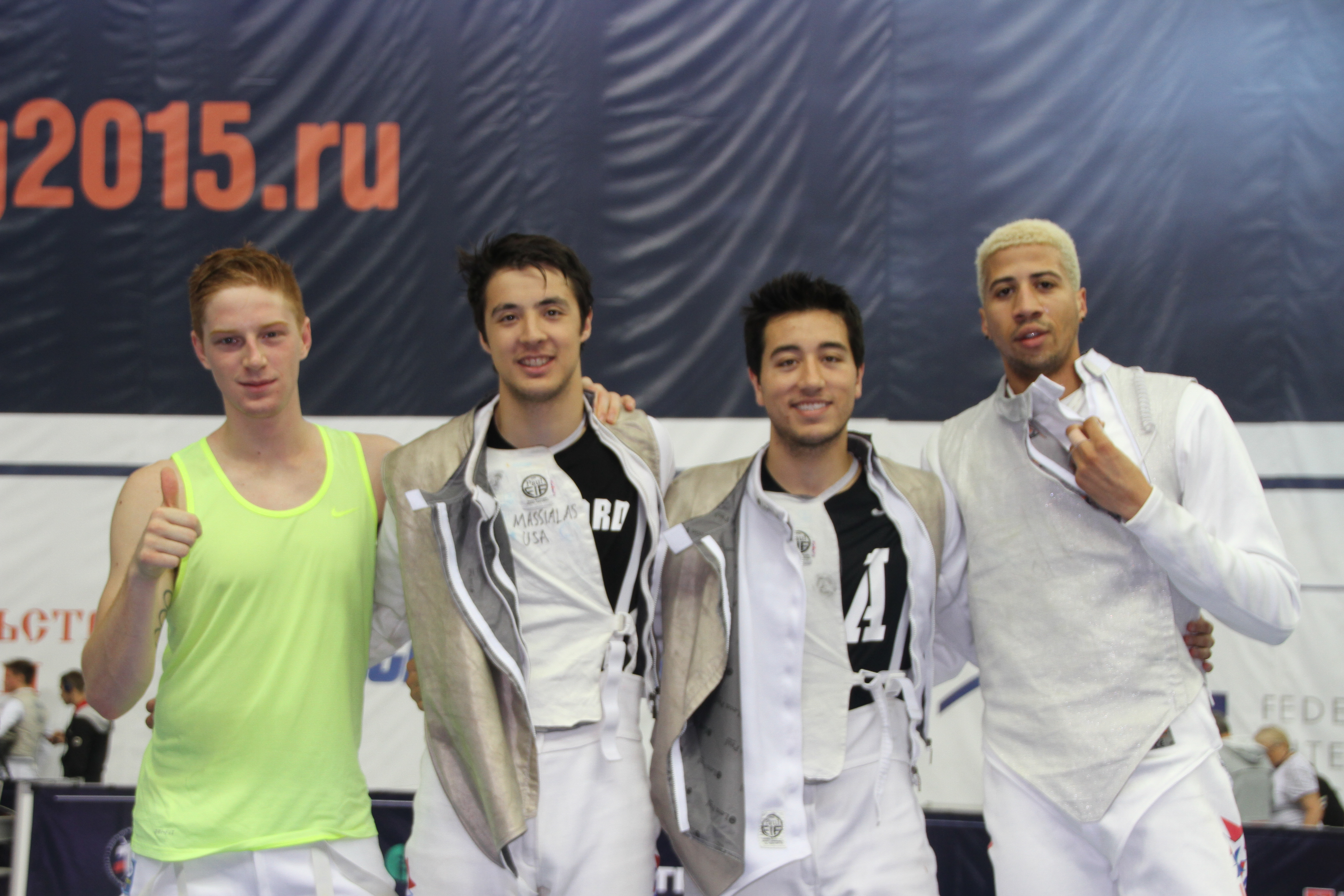 Team Usa Advances To Second Day Of Men S And Women S Foil