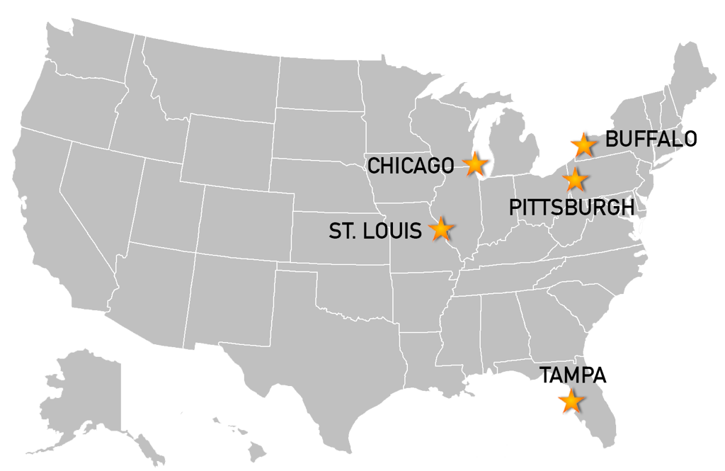 Finalists Named For Hosting 2018 IIHF World Juniors - St Louis Missouri On Map Of Us