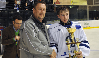 World Selects Invite Boys MVP trophy