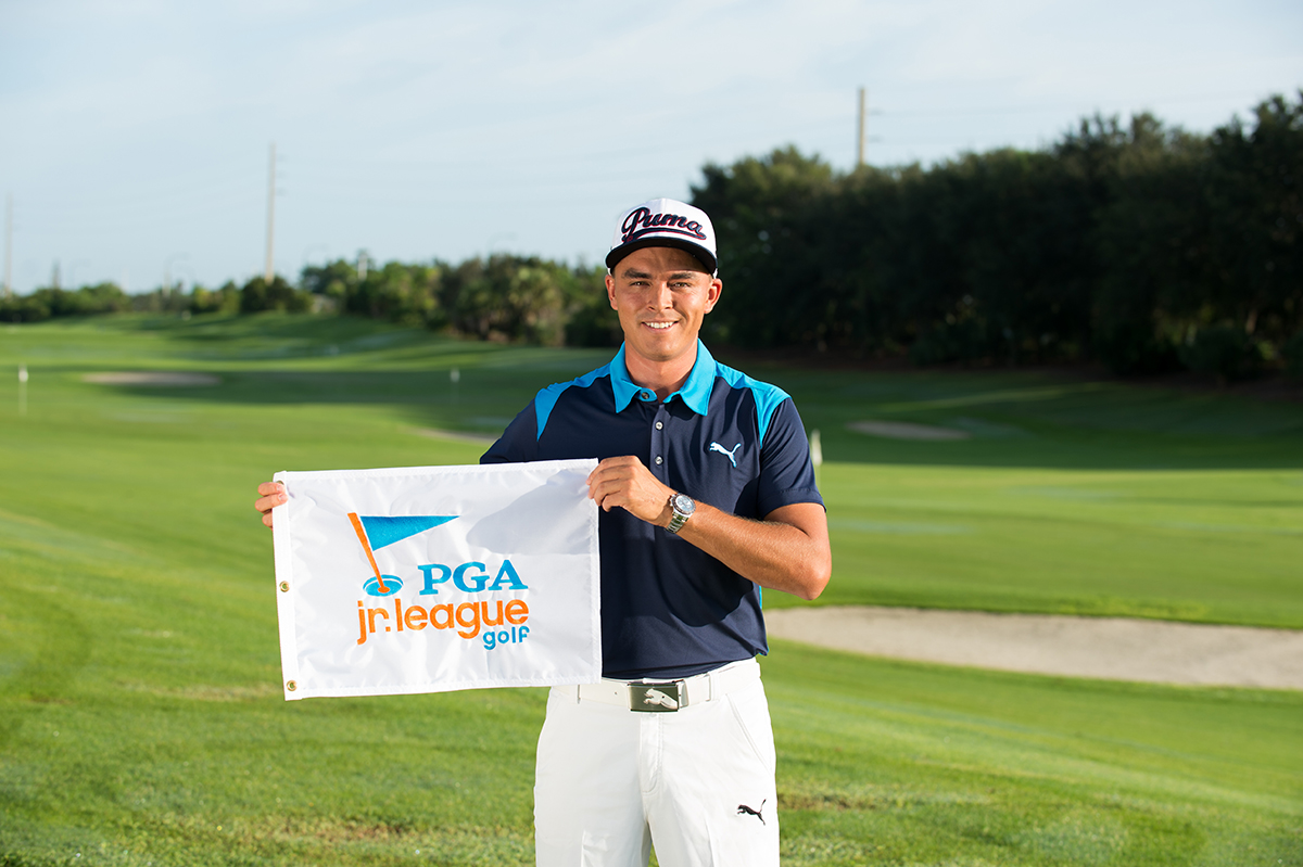 PGA Jr. League Golf Ambassador Rickie Fowler