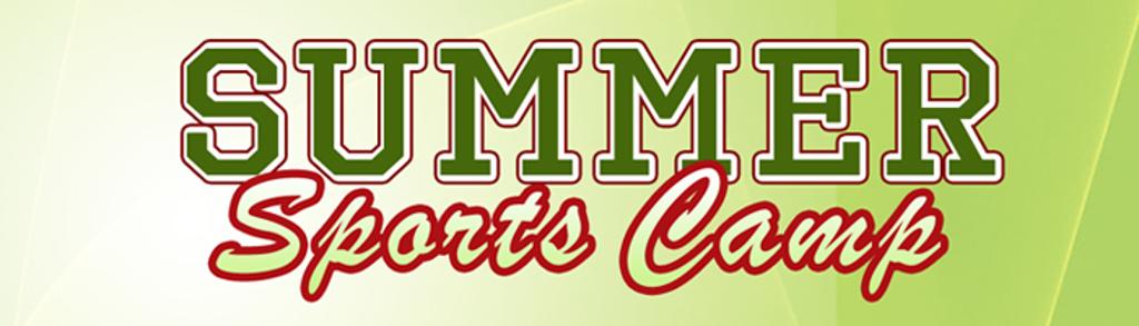 Summer Sports Camp Green Poster