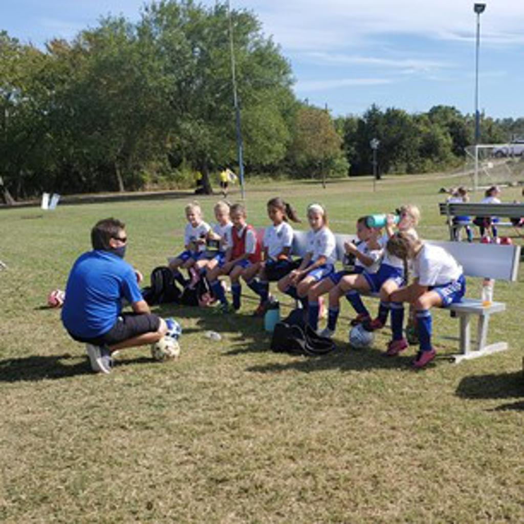 T&C Sports Academy Soccer Team Training Photo