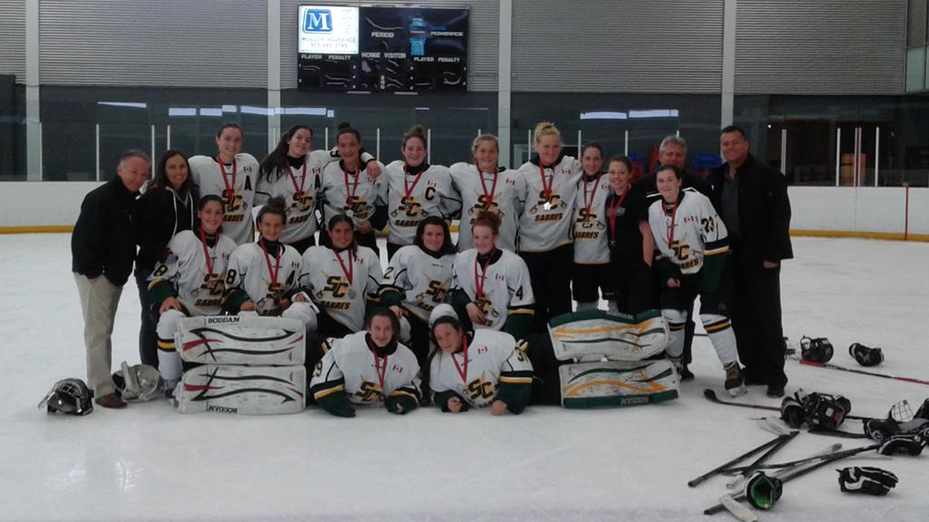 Midget AA Sabres Golden in Detroit Tournament The