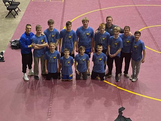 2021 7th&8th Grade NYWA STATE Team