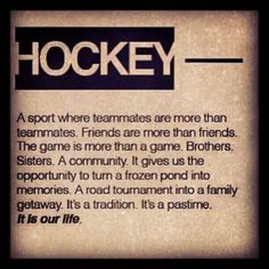 Essay Writing About Hockey