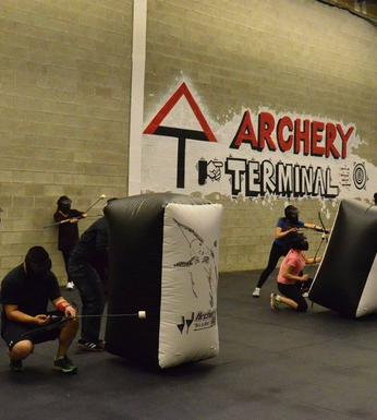 Archery Terminal In Mississauga - Learn Archery - Archery Tag - Archery Dodgeball - Battle Archery