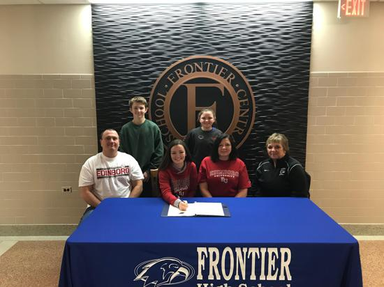 Olivia Weller signs with Edinboro University