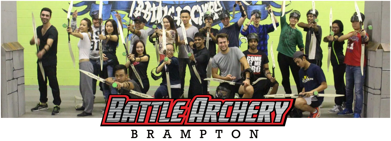 Battle Archery In Brampton - Battle Archery In Mississauga - Archery Tag - Archery Dodgeball - Archery Lessons Toronto