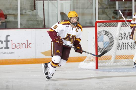 The Golden Gopher women opened the 2015-16 campaign at 9-1-0 overall, outscoring their opponents 62-12 through 10 games. Photo credit: Eric Miller, Gopher Athletics.