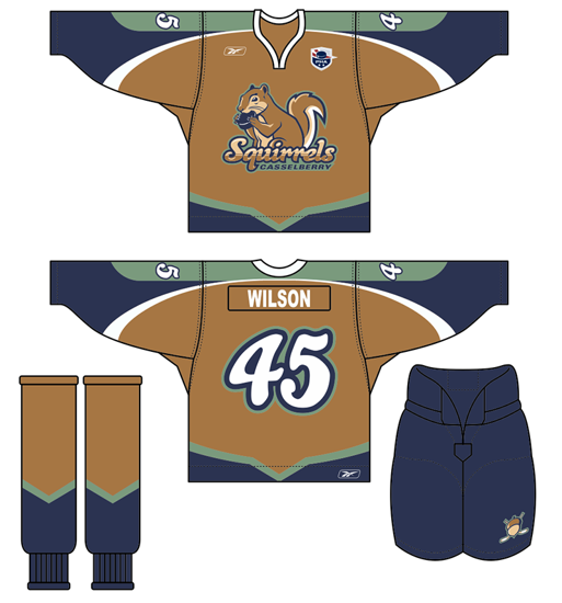 Mississauga Hockey Jersey Design by Kevin J. Johnston