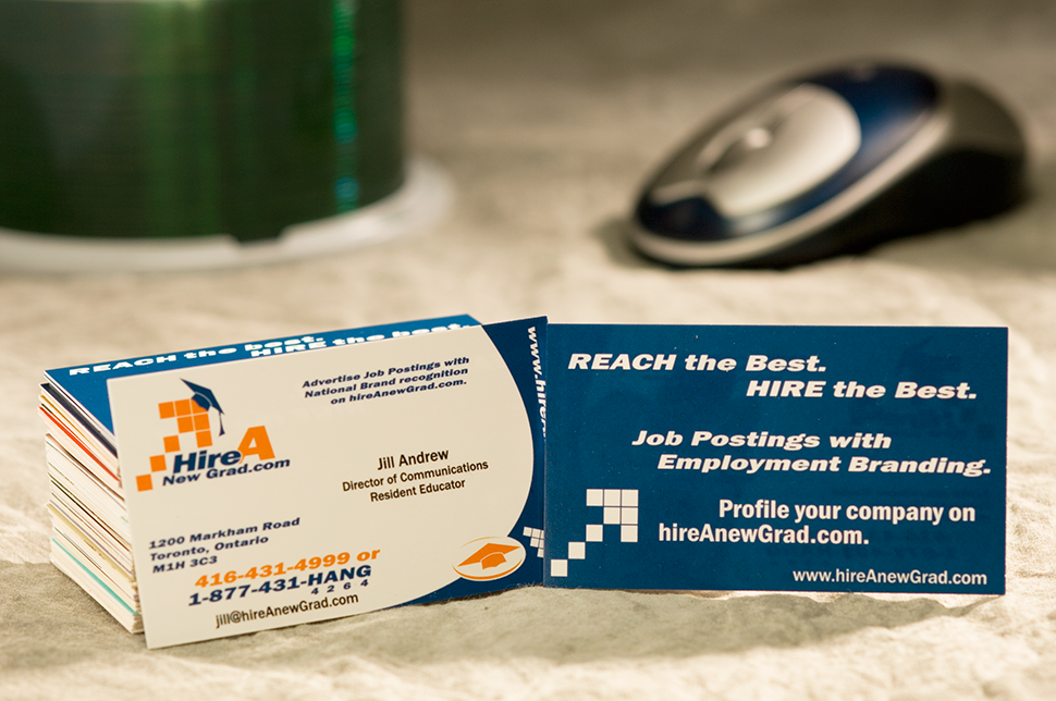 Mississauga Business Card Design by Kevin J. Johnston - Hire a Grad
