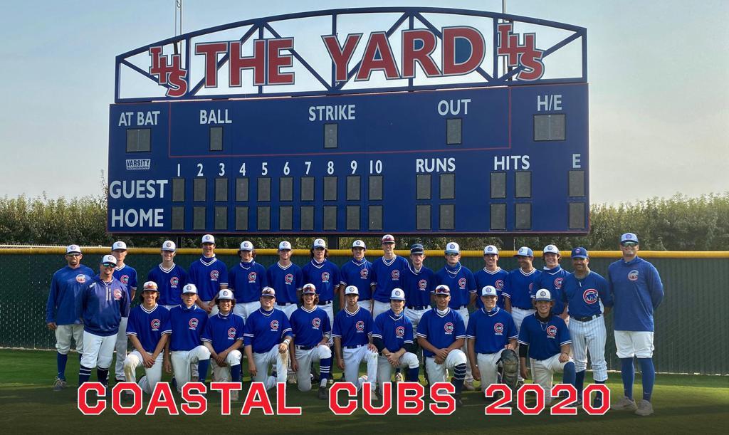 2020 Coastal Cubs HS Team Upper-class