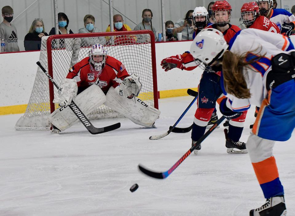 A 2-1 overtime semifinal loss in the Girls Tier II 1A division prevented the Krivo 14U team from playing for a national title and ended an impressive run at the event. Click to see more photos. Photo by Steven Robinson, SportsEngine