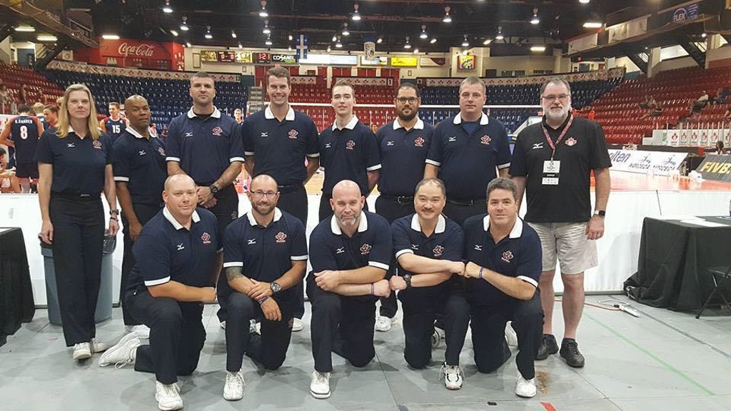 Ivan Karin and Canadian volleyball referees