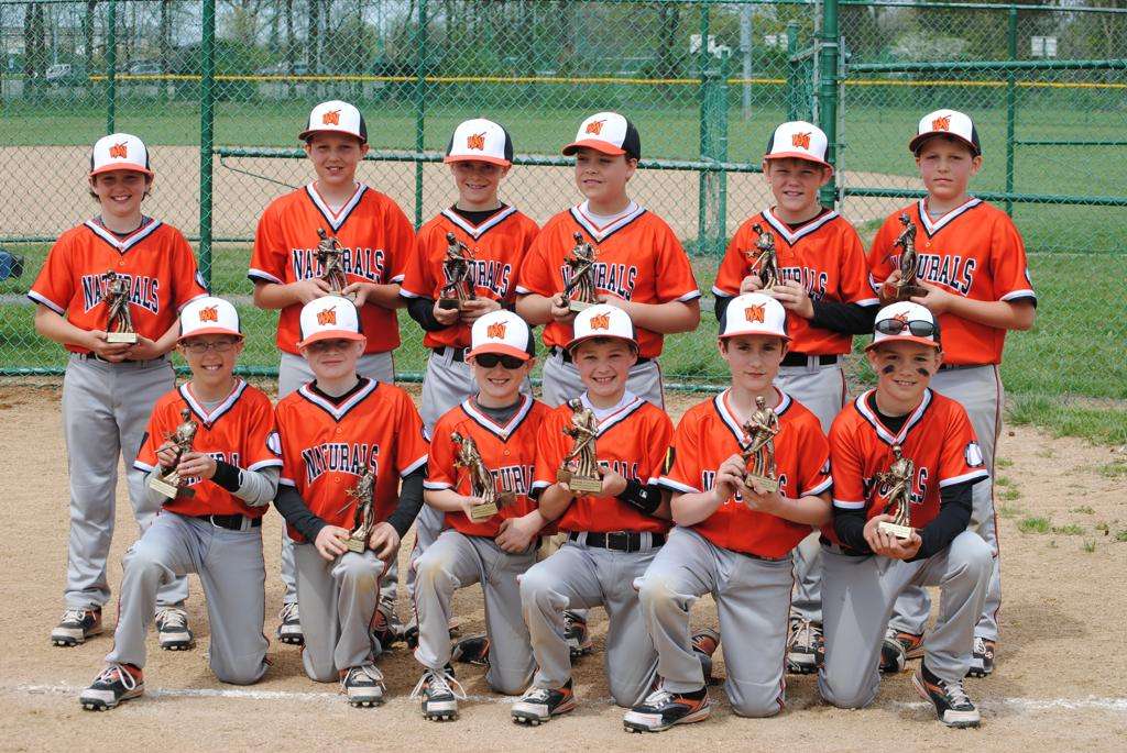 Battle in the Ville 10U Champions!  May 2nd - 4th