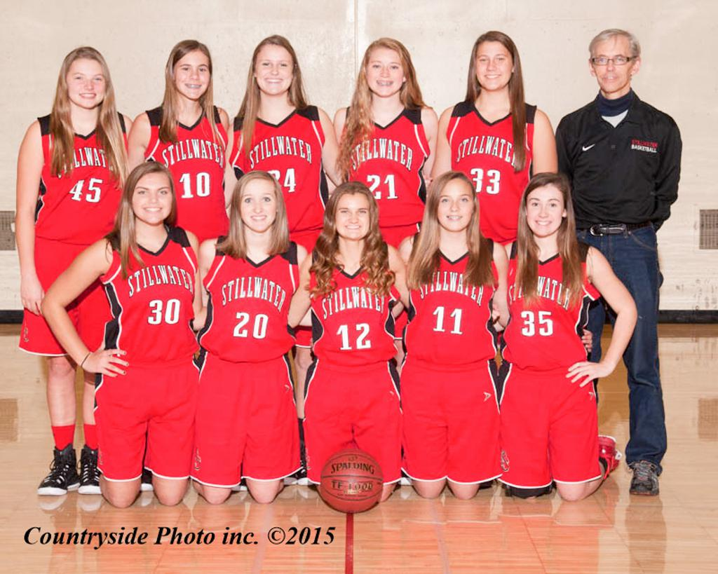 Stillwater B-Squad Basketball Team 2015-16