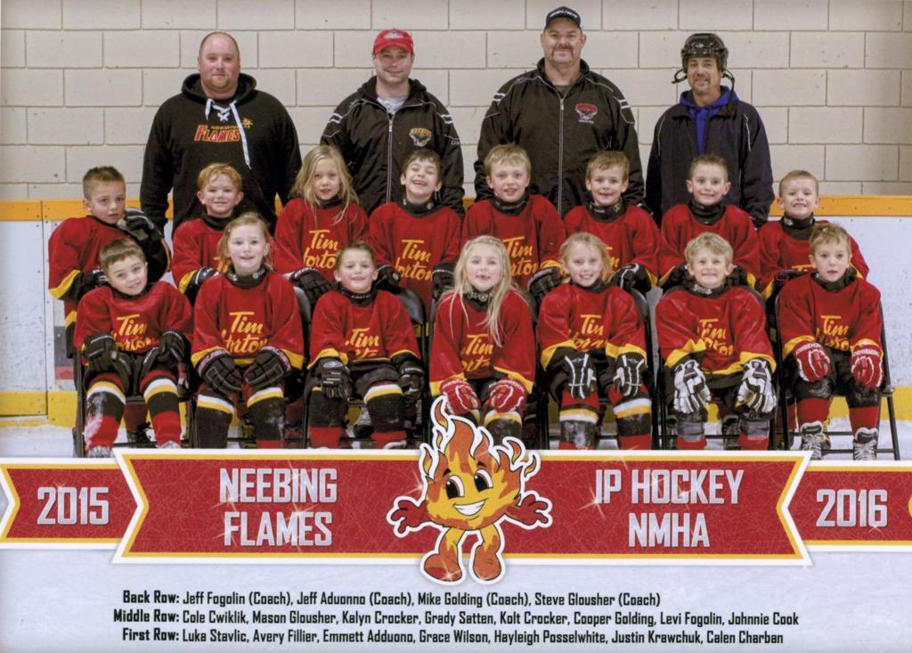 2015-16 Neebing Flames