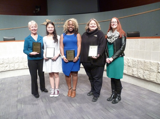 Bloomington United for Youth Award Honorees