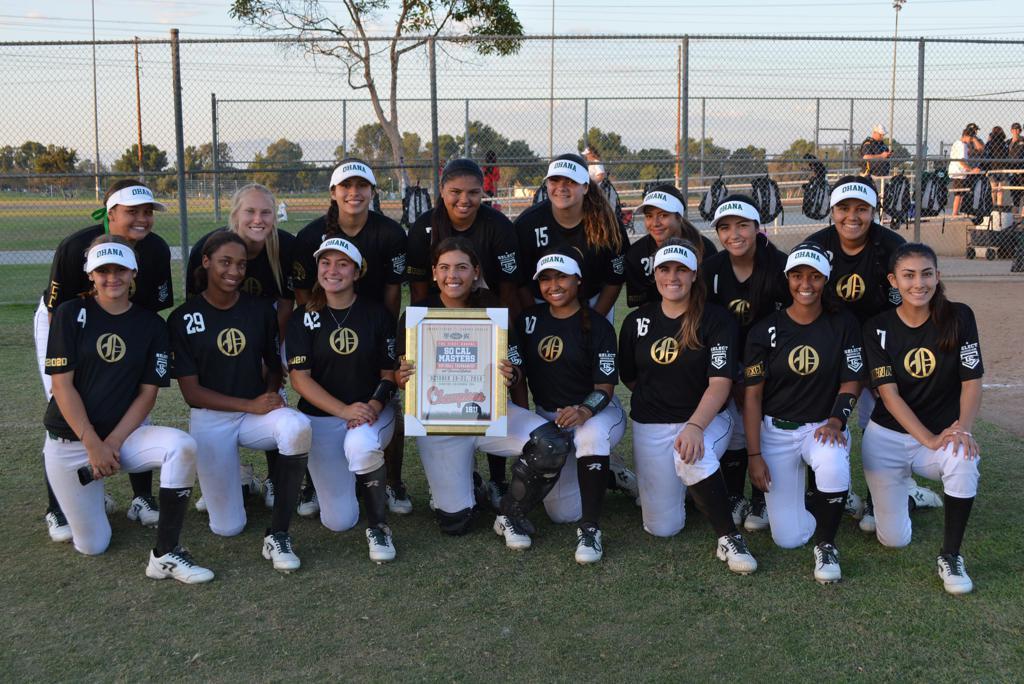 18u Finalists Ohana Tigers GOLD