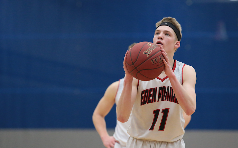 Eden Prairie has matched up well against Lakeville North in recent years. Although the teams only meet once in the regular season, it's often a tight contest. Photo by Cheryl Myers, SportsEngine