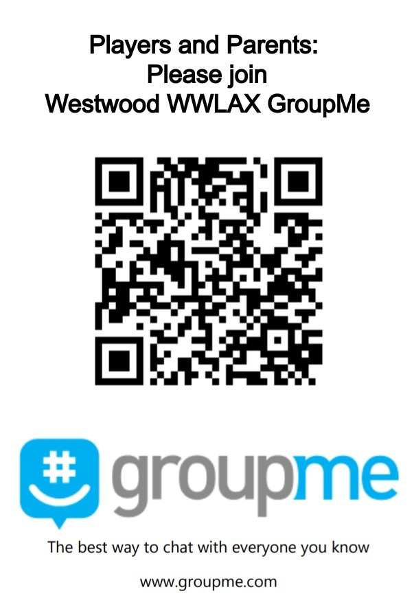 Click to Join WWLAX GroupMe