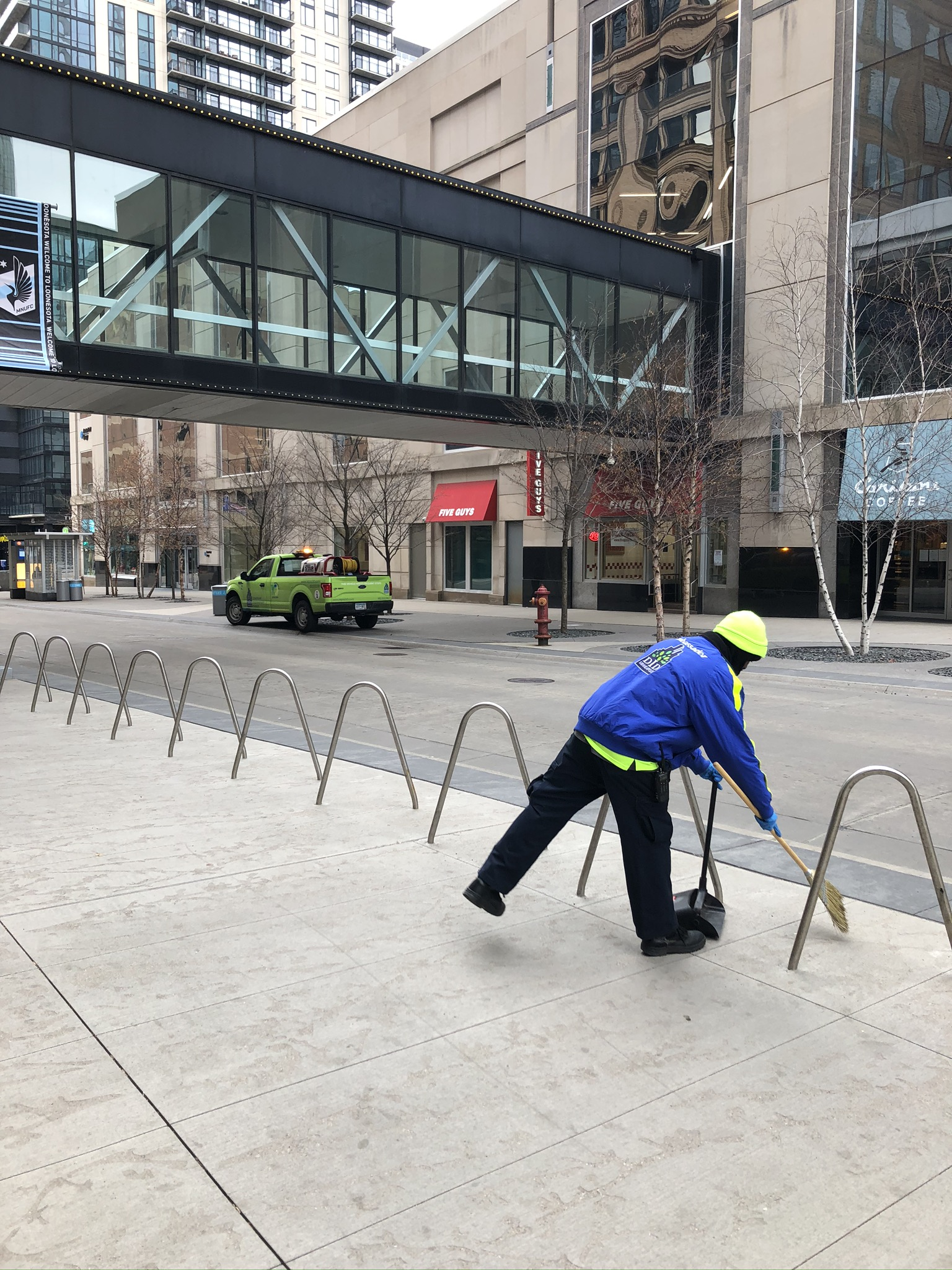 Mpls DID cleaning Ambassador Nicollet Mall