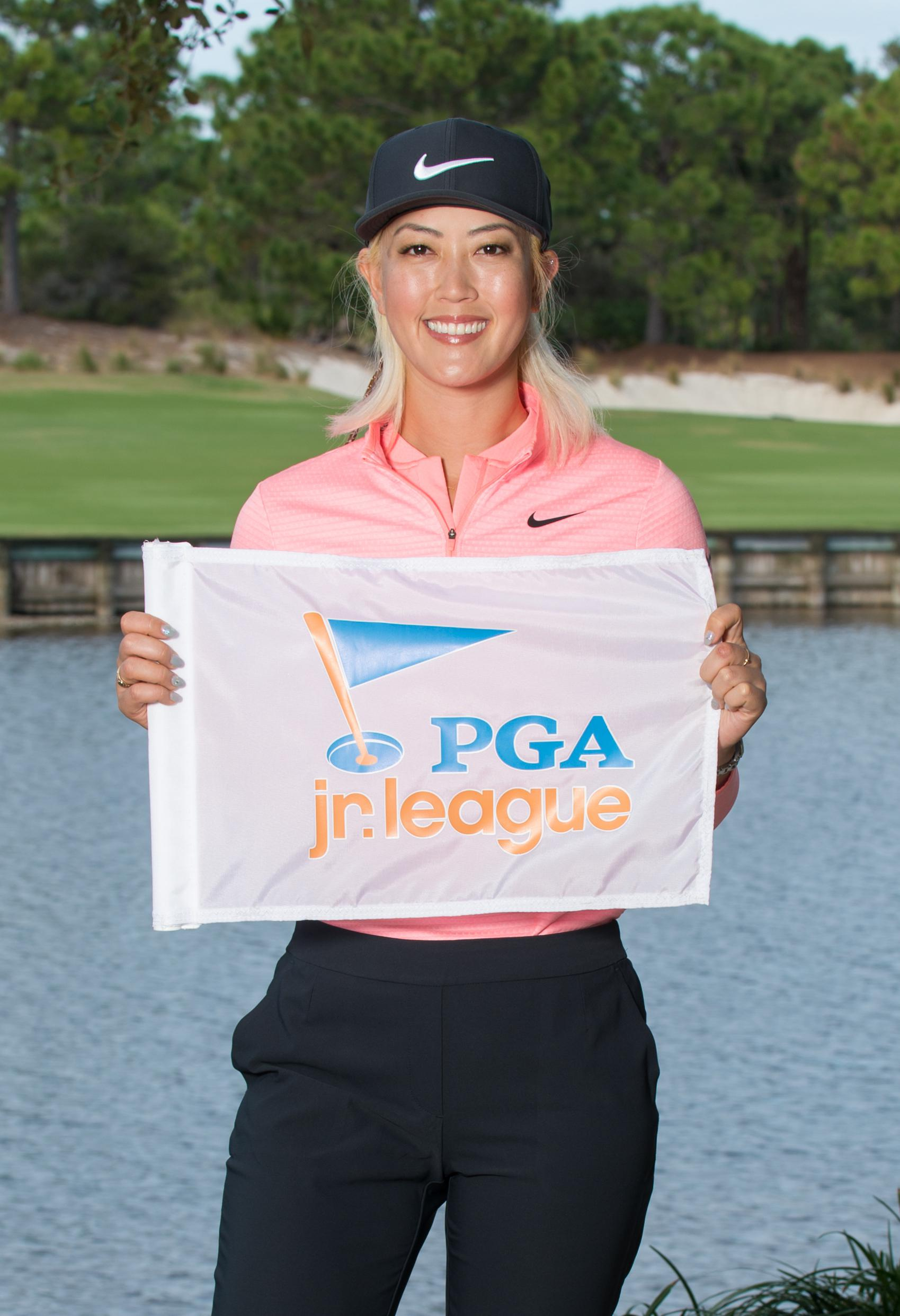 PGA Jr. League Ambassador Michelle Wie