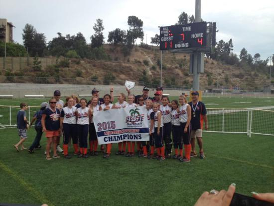 12U District champs