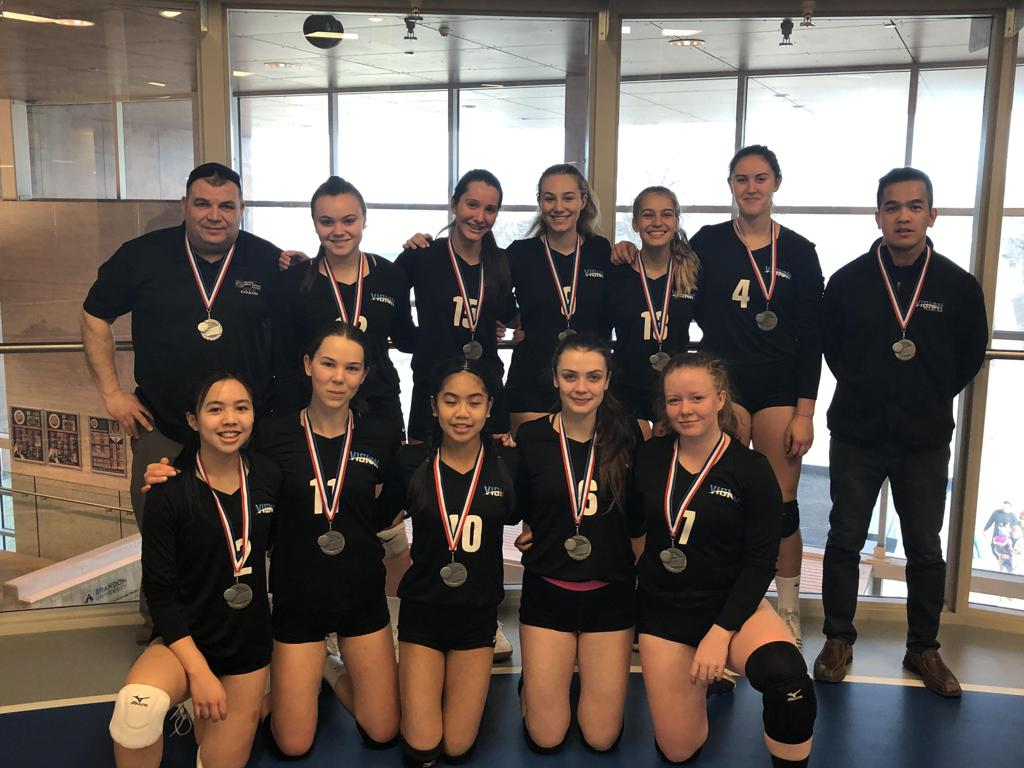 Vision Elite U15 Rage take Silver at bronze at U16 Jr Wesmen Tourney