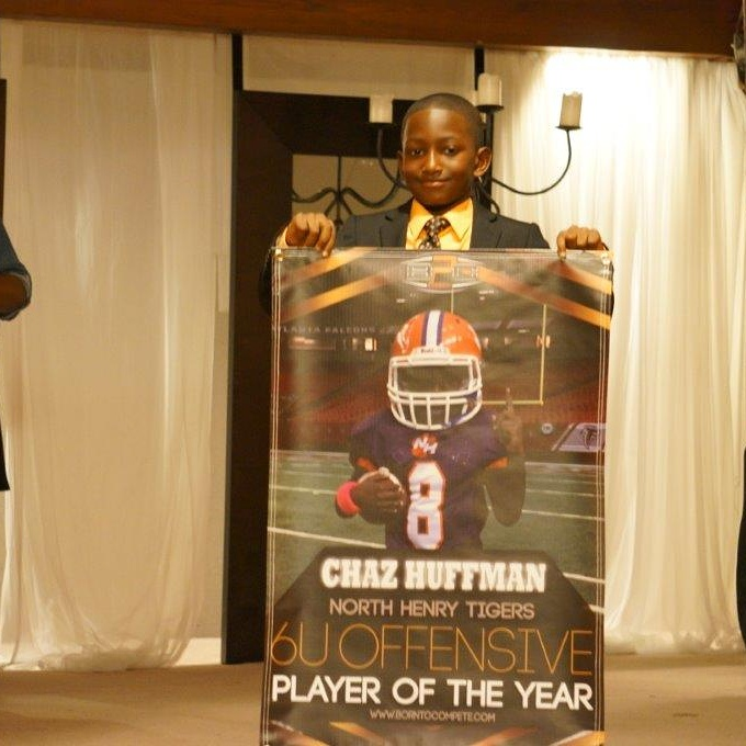 Born to Compete 6u Offensive Player of the Year 2015