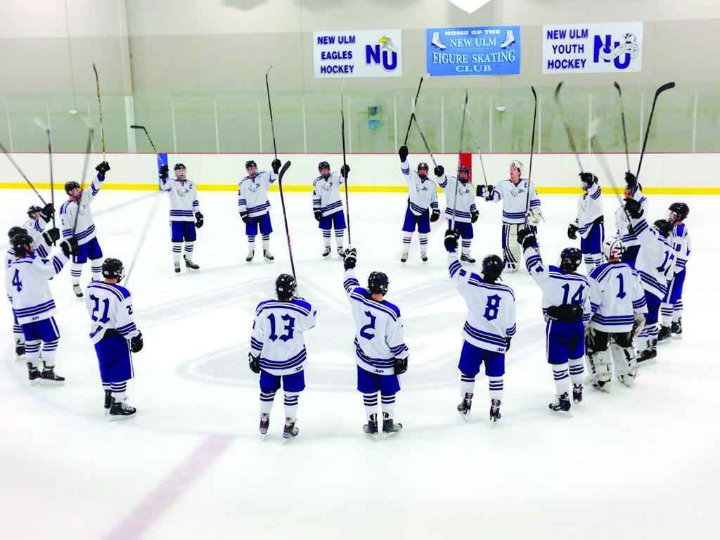 Image result for new ulm high school hockey