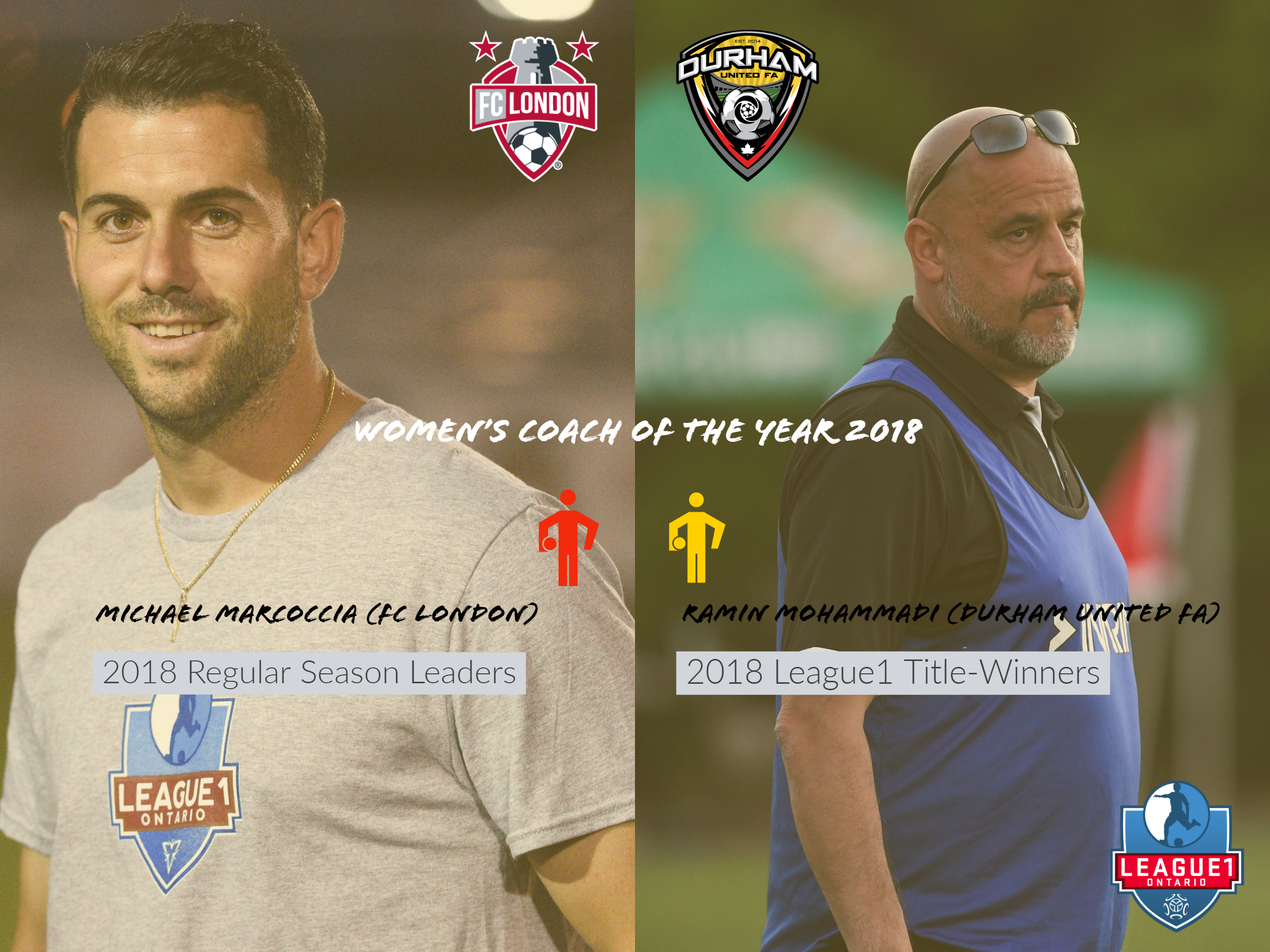 durham s mohammadi and london s marcoccia to share women s coach of