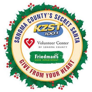 Sonoma County's Secret Santa Logo