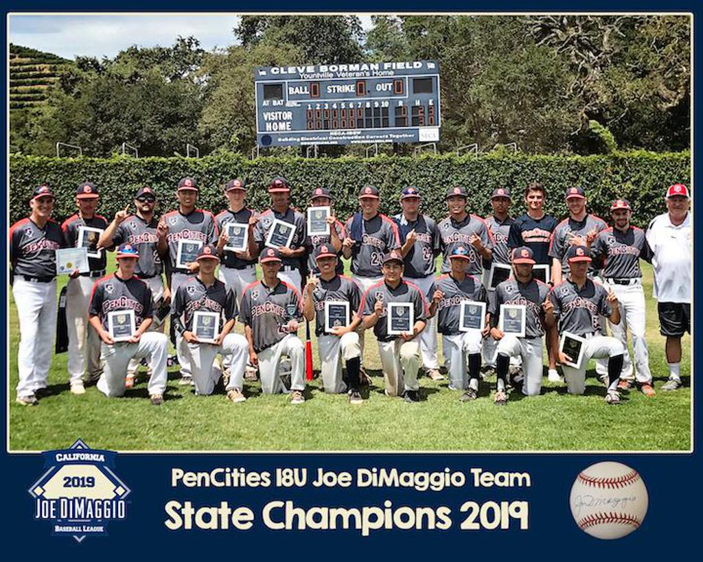 Congratulations to the 18U PenCities Black team for winning the Joe DiMiggio State Championship!