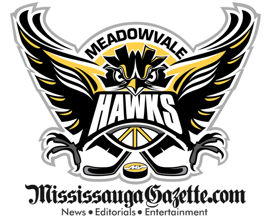 Meadowvale Hawks Hockey Association Logo - Meadowvale Hockey Logo