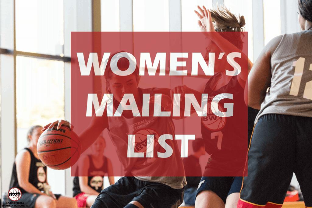 Women's Mailing List