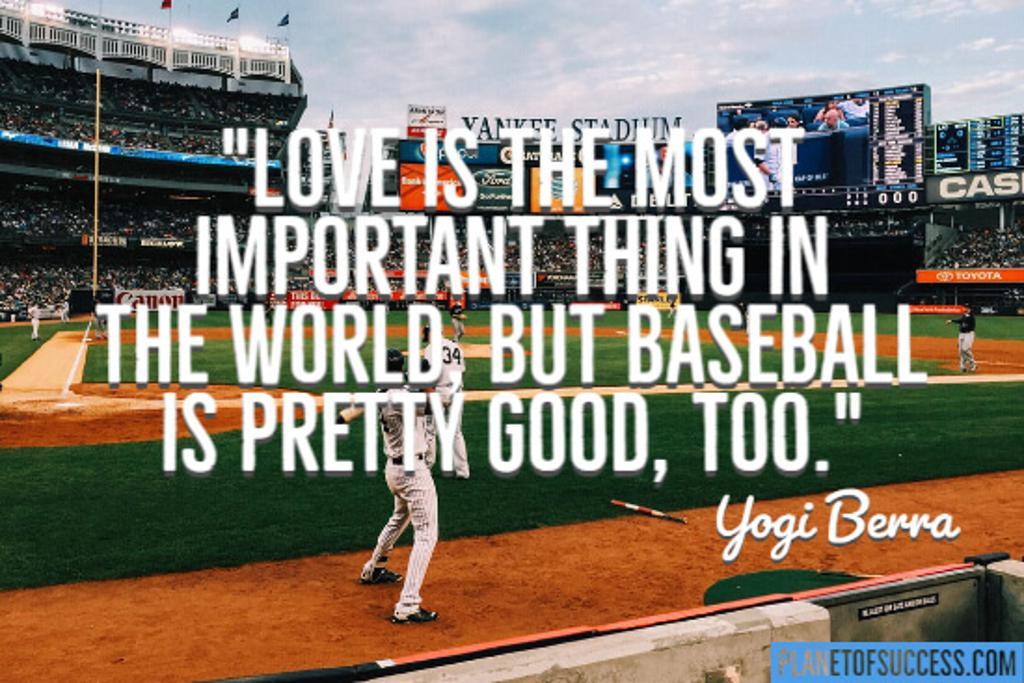 Yogi at his best