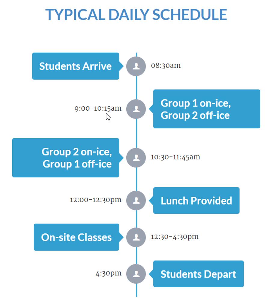New Jersey Titans Academy Schedule