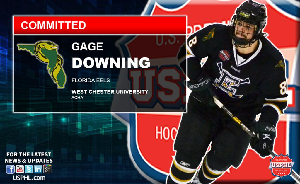 official photos a5e8f 66ff9 Florida Eels' Gage Downing Announces His College Choice