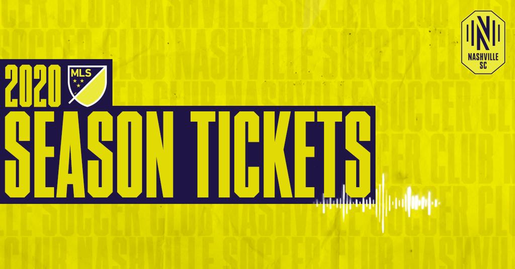 Nashville SC MLS season tickets available to general public