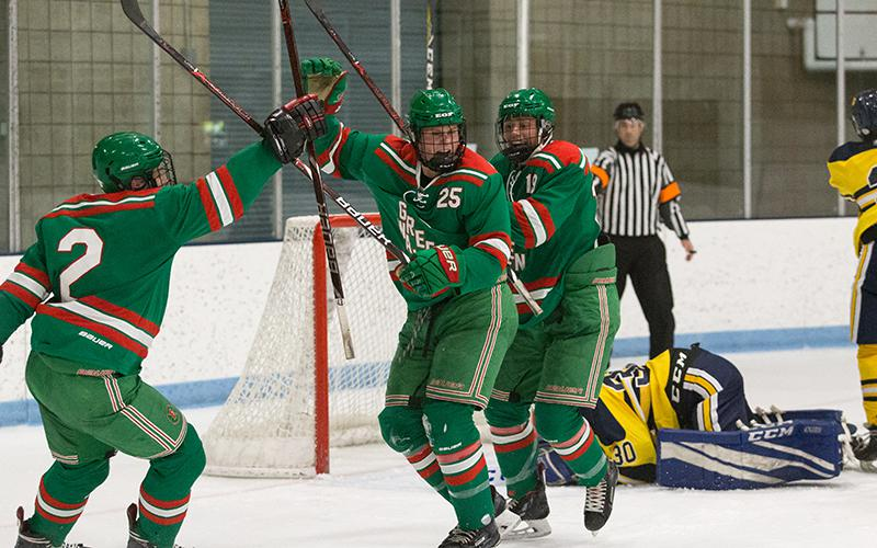 East Grand Forks could get a sneak preview of a future state tournament opponent in its battle with St. Cloud Cathedral on Saturday. Photo by Cheryl A. Myers, SportsEngine