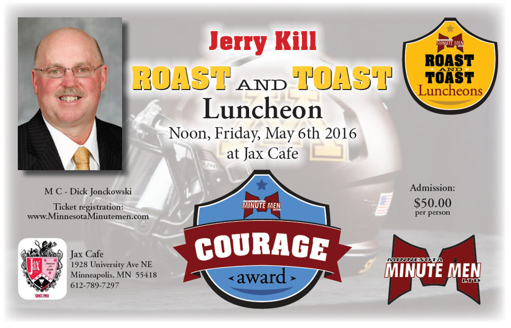 Former Head Coach Jerry Kill Roast and Toast