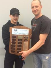 "Clifford Duchesne Memorial Award - MVP at Peewee ""AA"" Provincials  — Isaiah Spence-McMaster"
