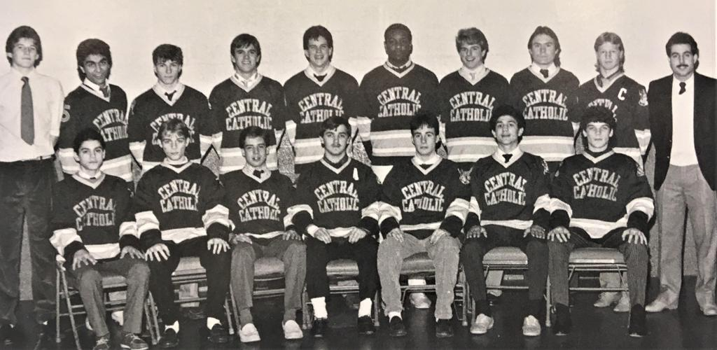 CCVHC Varsity Team, 1985-86