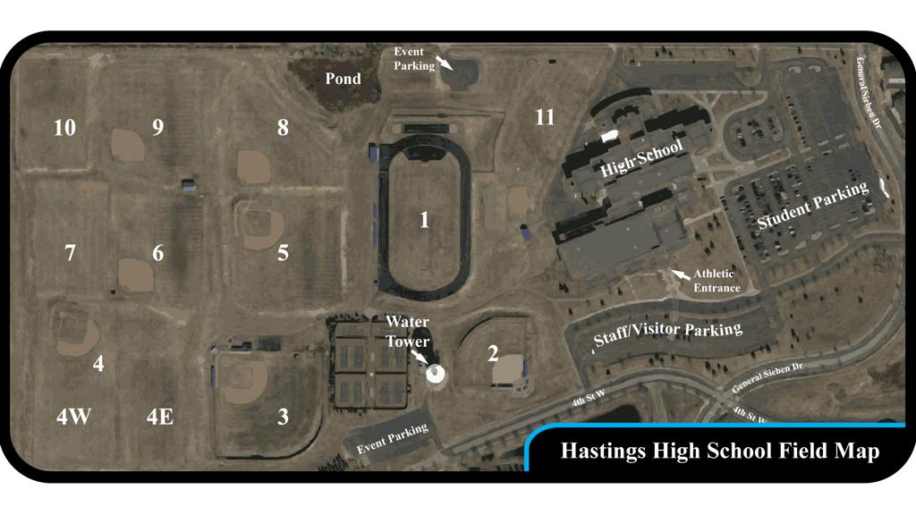 Hastings High School Fields